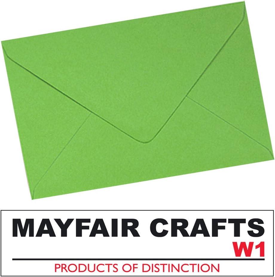 Mayfair Crafts-250 x A6 C6-Buste da lettera Arancione spagnolo