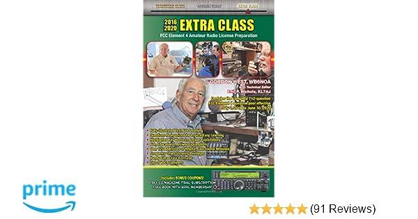 2016-2020 Extra Class FCC Element 4: Gordon West, WB6NOA