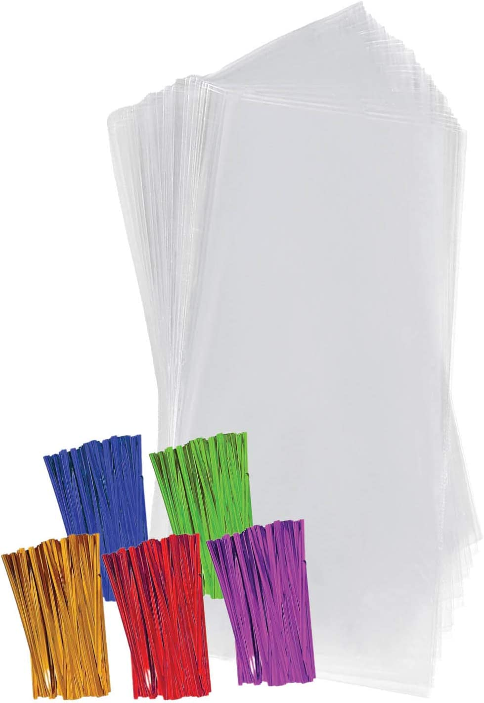 Clear Plastic Cellophane Treat Bags 4
