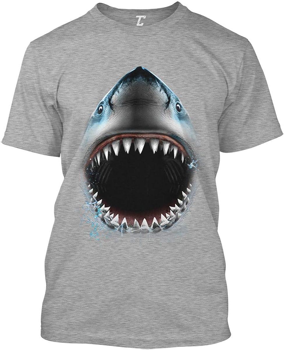 Shark Face - Great White Sea Creature Men's T-Shirt