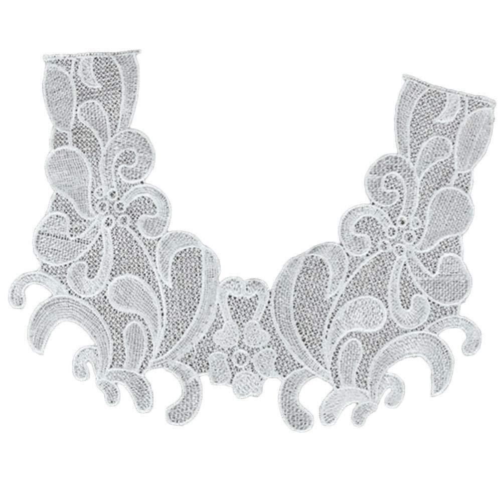 Lace Fabric Sewing Embellishments Trims DIY Neck Collar Craft Decor Applique