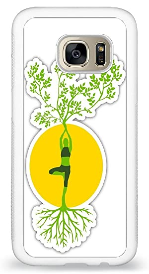 JiorJfe Custom Samsung_Galaxy_S7 Case,Yoga Harmony ...