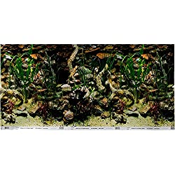 Pen Plax DBC2448CB Petco Double Sided Aquarium Background