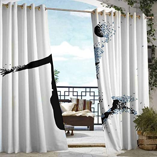 Cortina de pérgola DILITECK para decoración de habitación de ...