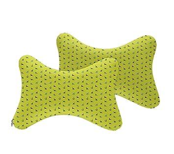 Amazon.com: Almohada para el cuello del coche, cómoda y ...