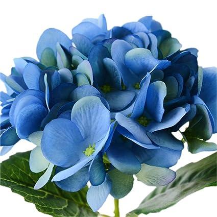 Jungen Bouquet Fleur Boule De Neige Hortensia En Silk Plante