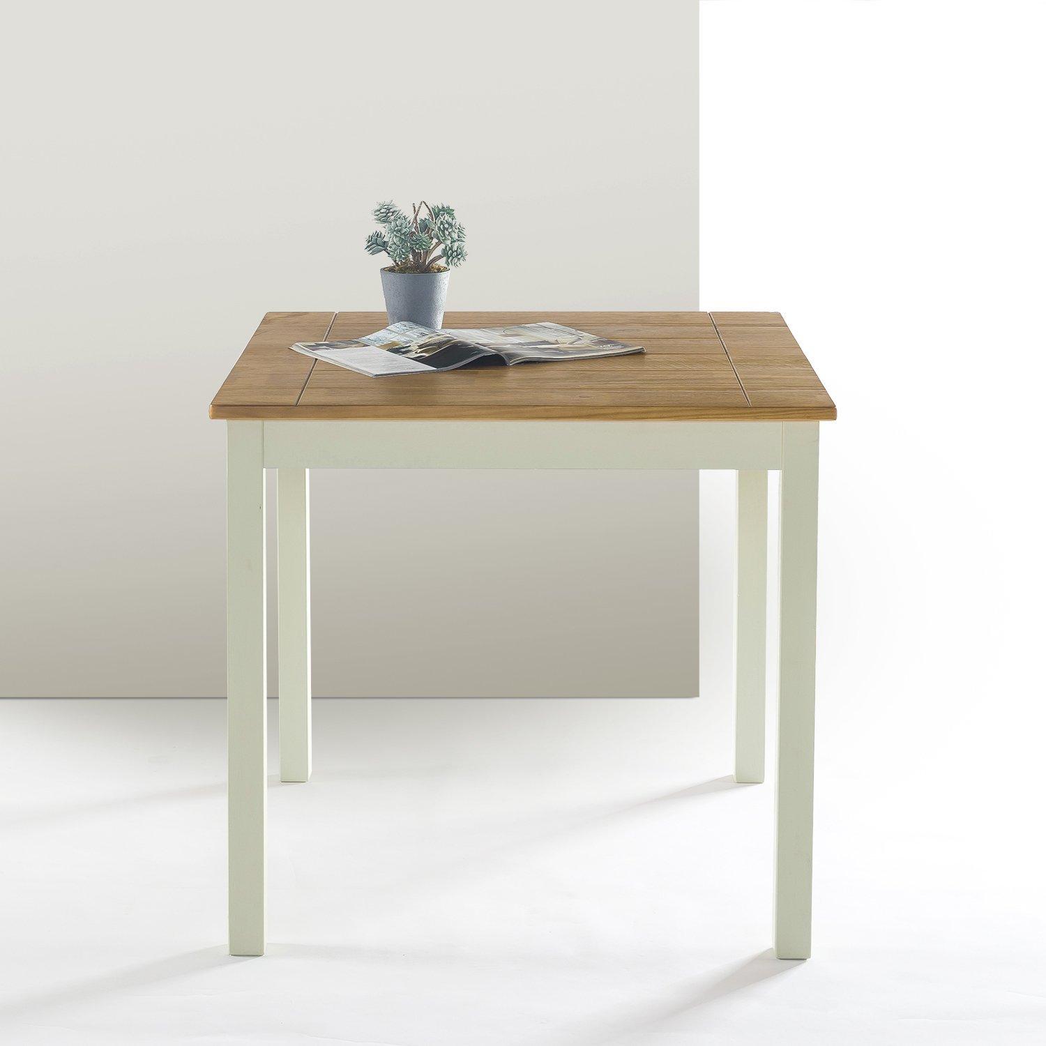 Zinus Farmhouse Square Wood Dining Table by Zinus (Image #6)