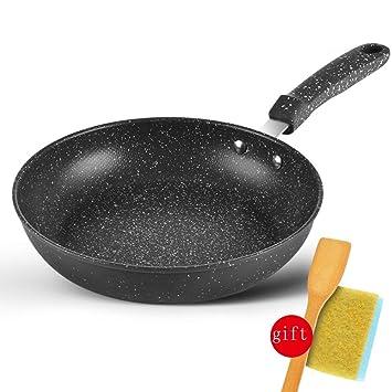 DWUN [79 Cocina Olla, Wok hogar, sartenes Maifan Stone sartén ...
