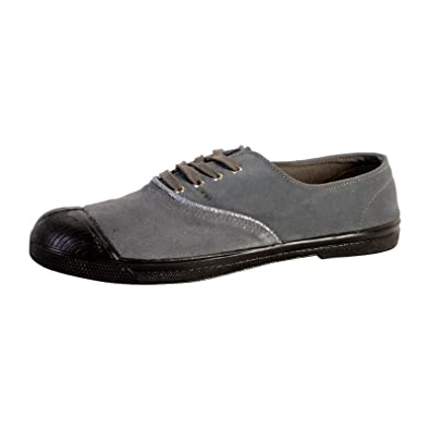 c864713d99902c Bensimon Tennis Lacet Suedepiping Gris: Amazon.fr: Chaussures et Sacs