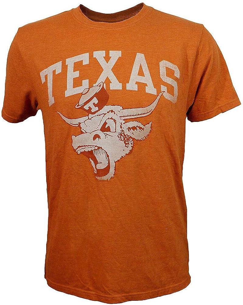 Elite Fan Shop Texas Longhorns Triblend Tshirt Orange