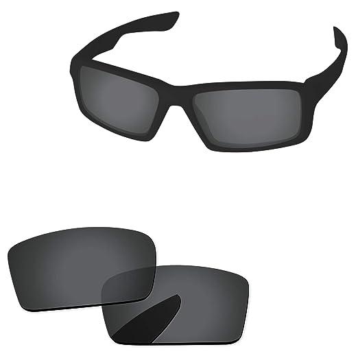 1abd47b683 Amazon.com  PapaViva Lenses Replacement for Oakley Twitch Black Grey ...