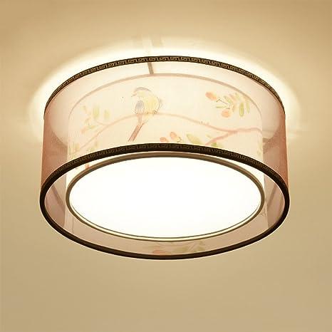 erru- lámpara de techo simple gamuza de estilo europeo ...