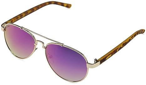 MSTRDS Mumbo Youth, gafas de sol para Niñas, Dorado (gold ...