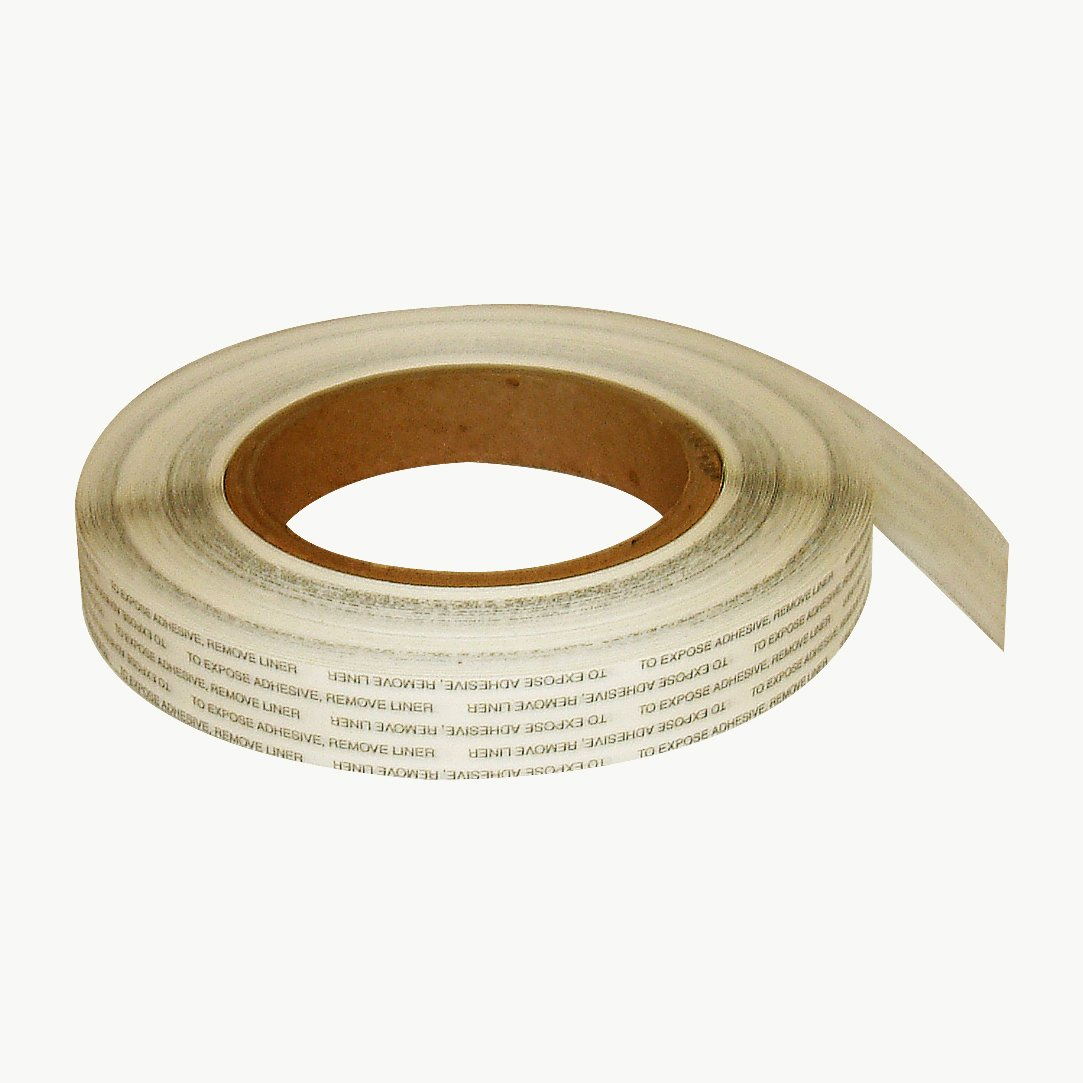 Ludlow 7258600 T-Tak HD Double Coated Tissue Tape: 1/2' x 72 yd, Natural