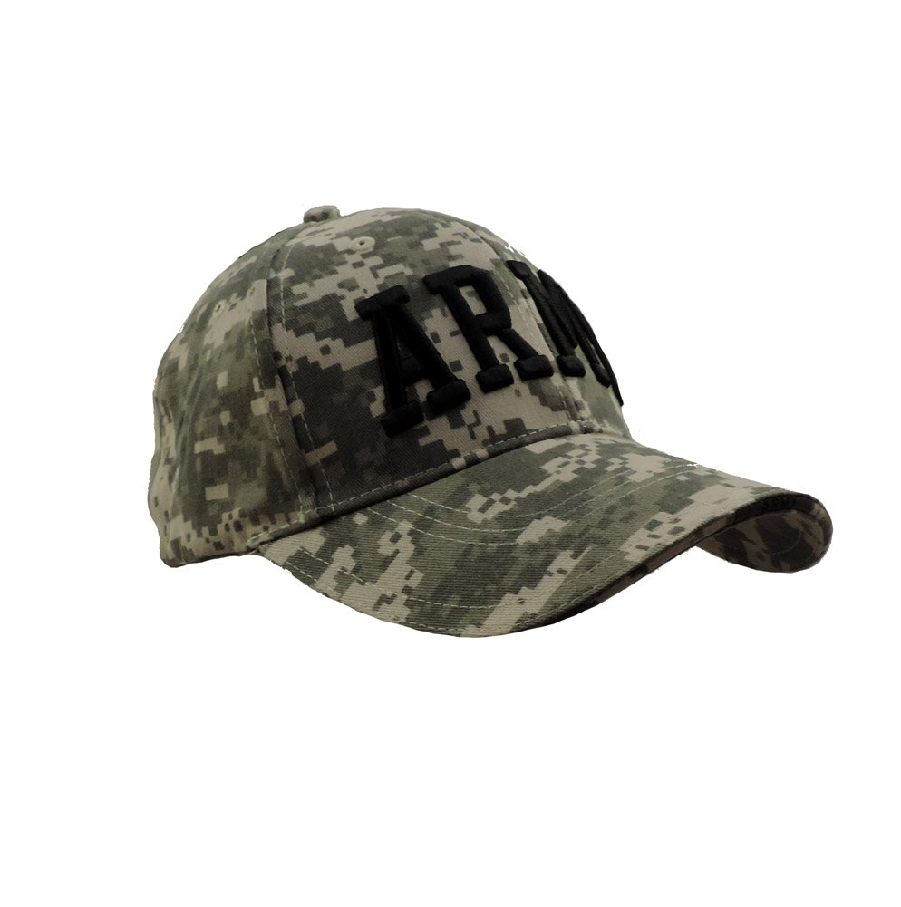 Amazon.com   Deluxe ACU Digital Camo Low Profile ARMY Embroidered  Adjustable Ball Cap   Everything Else 579ddf71a299