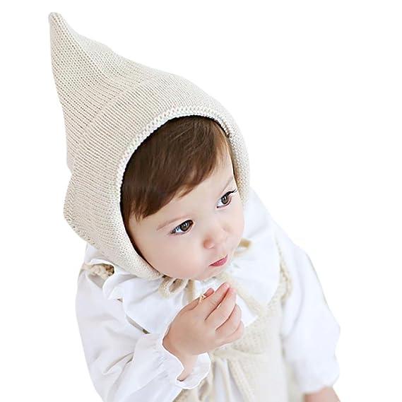 Babybekleidung Hüte Mützen Longra Baby Mädchen Jungen Gestrickte