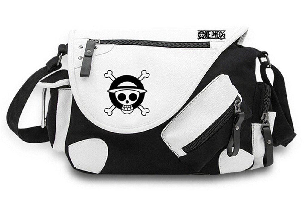 Siawasey One Piece Anime Cosplay Handbag Messenger Bag Cross-body Backpack Shoulder Bag