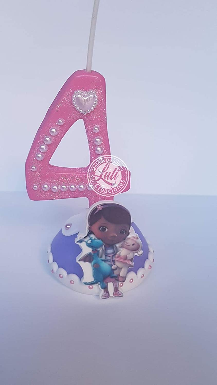Vela decorada porcelana fría Inspirada en Doctora Cumpleaños ...