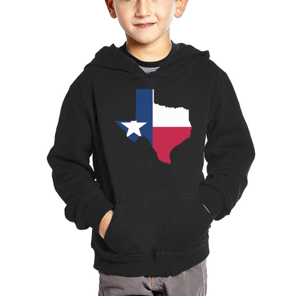 Texas Strong Boys Casual Soft Comfortable Sweatshirts Kangaroo Pocket Hoodies