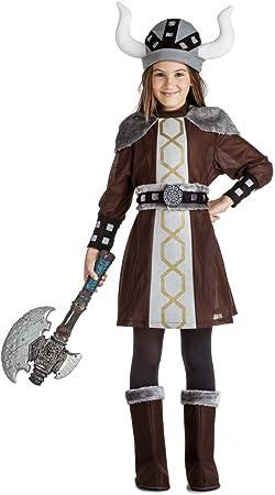 Disfraz Vikinga 7-9: Amazon.es: Juguetes y juegos