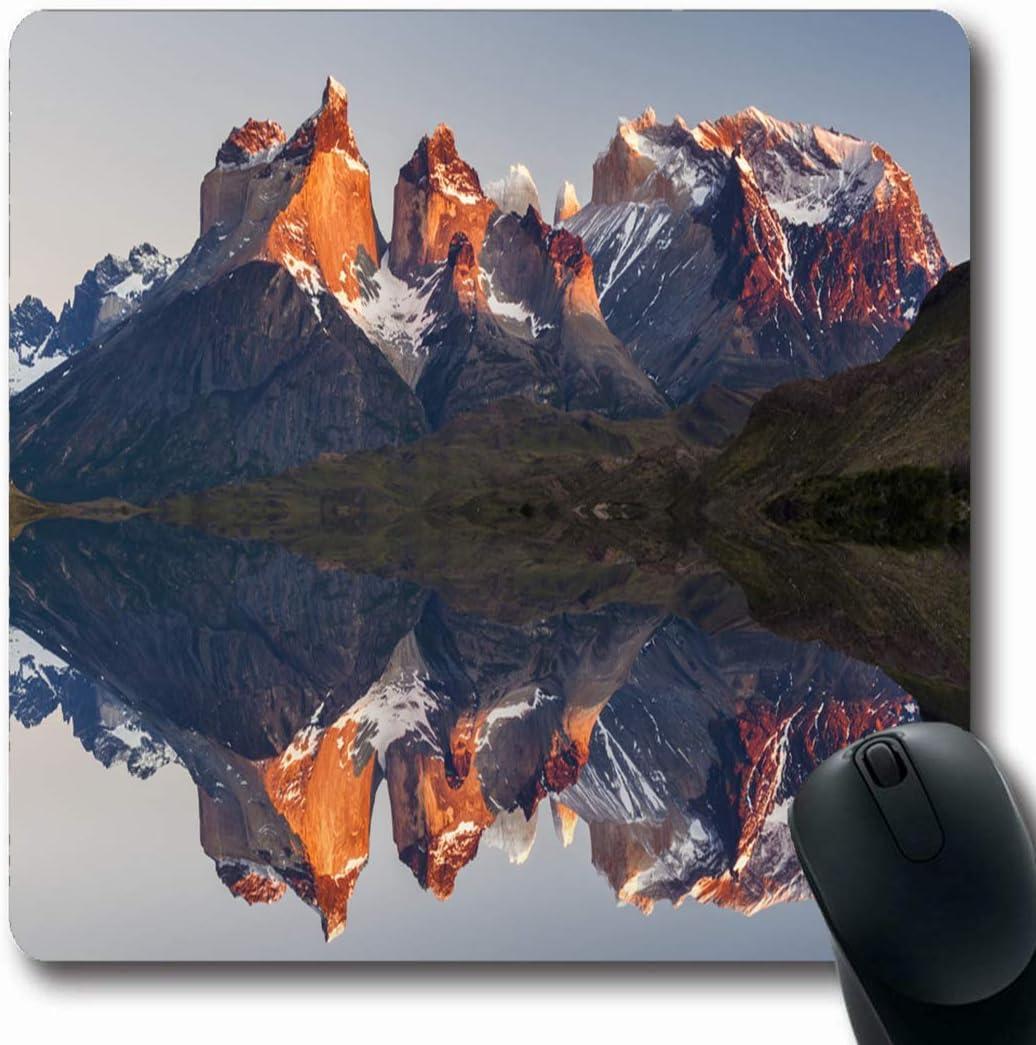 Luancrop Colchonetas Escalada Azul Montaña Majestuosa Reflexión ...