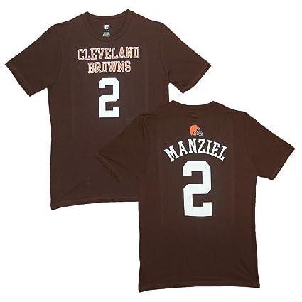 huge discount d6ee4 e8e24 Amazon.com : Outerstuff Johnny Manziel Cleveland Browns Kids ...