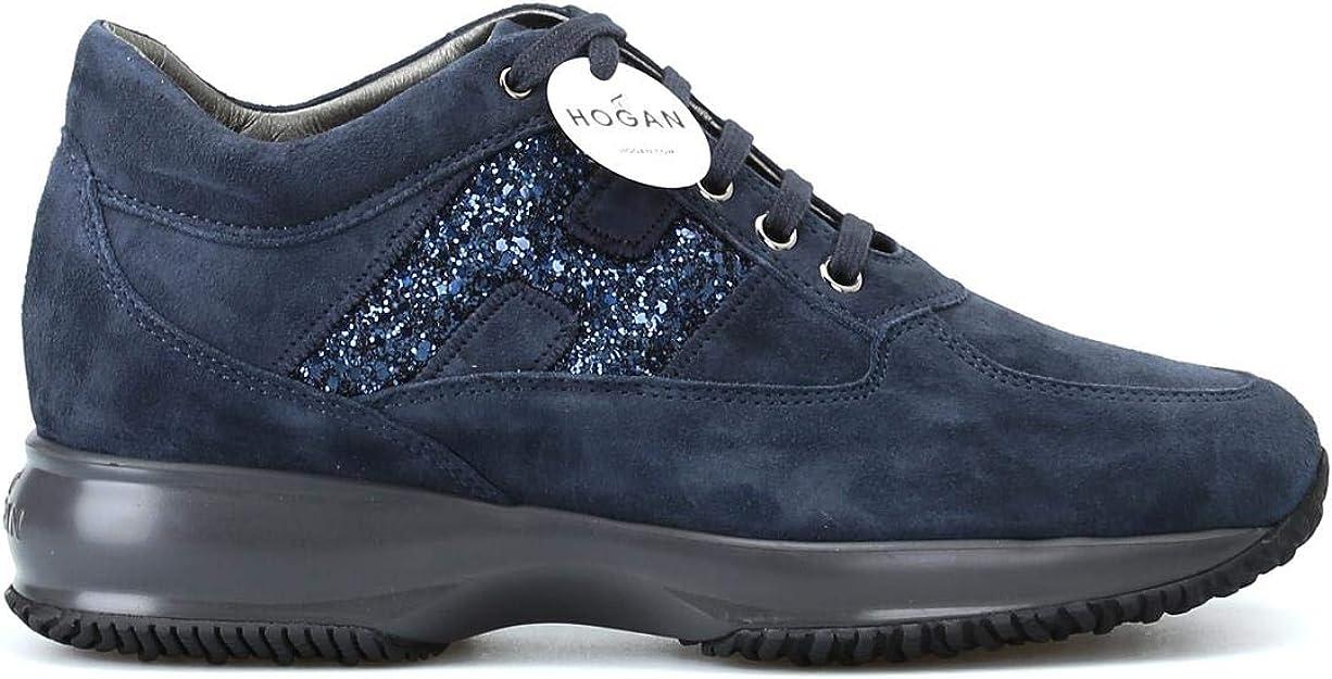Hogan Sneakers Interactive HXW00N0S3609KE1001 Blu Donna Scarpe ...