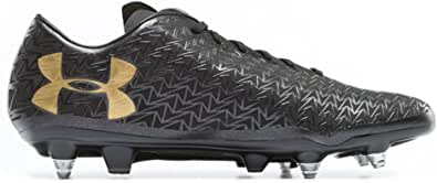 Under Armour Mens CoreSpeed Hybrid Rugby Boots - Black