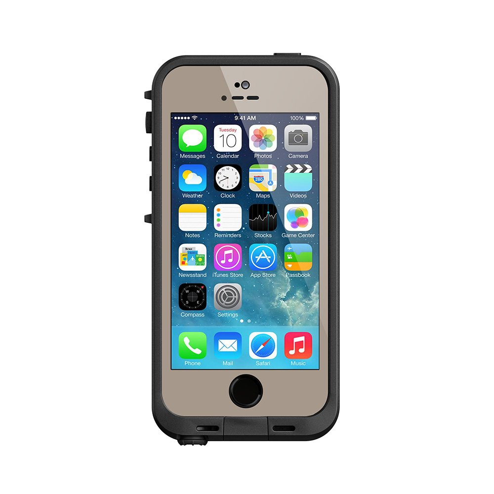 Amazon com lifeproof fre iphone 5 5s waterproof case retail packaging earth max 5 realtree camo discontinued by manufacturer cell phones