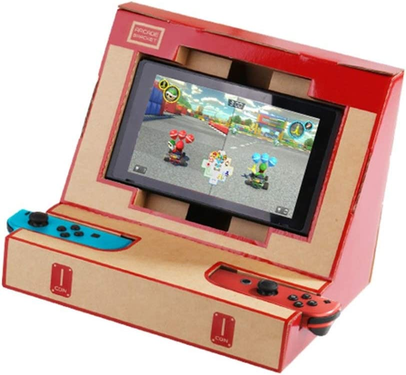 Juguete Electrico Soporte de Caja DIY Soporte de cartón Arcade Bracket para Nintendo Switch: Amazon.es: Juguetes y juegos