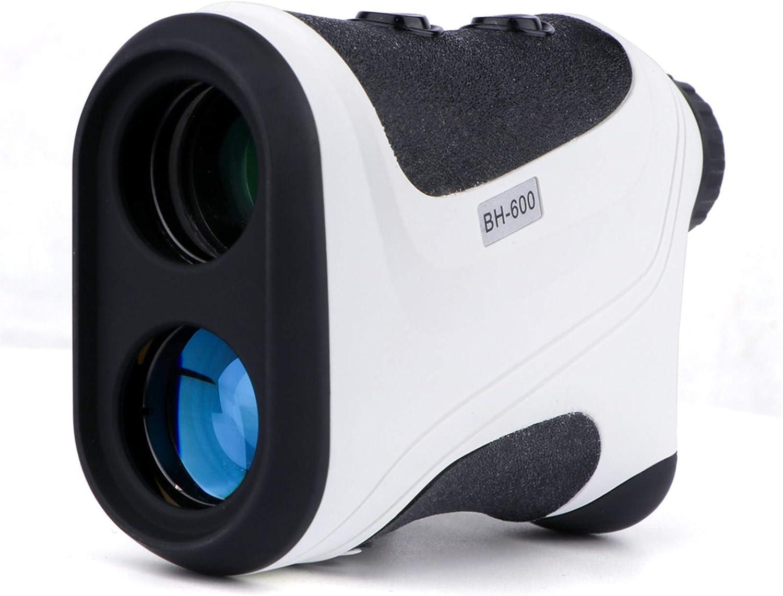 LIZHIOO Golf Telémetro, Láser Telémetro Binocular, con La Ampliación, Asta De Bandera Bloqueo Altura Distancia Velocidad Angular, Usado Golf Caza Telescopio Telémetro