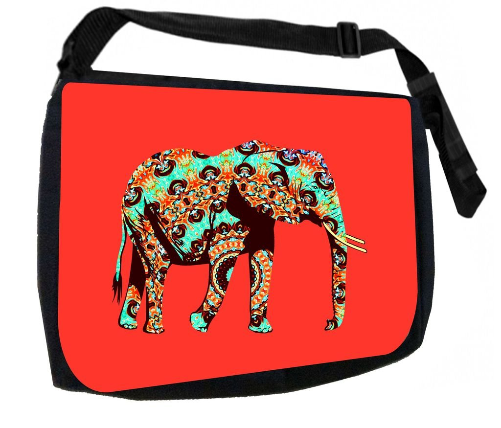 African Elephant Jacks Outlet School Backpack and Pencil Case Set