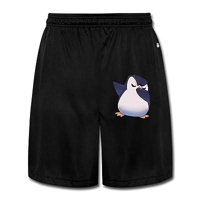 Baby Penguin Boy's Gym Pants Jogger Workout Short Sweatpant For Mens Black