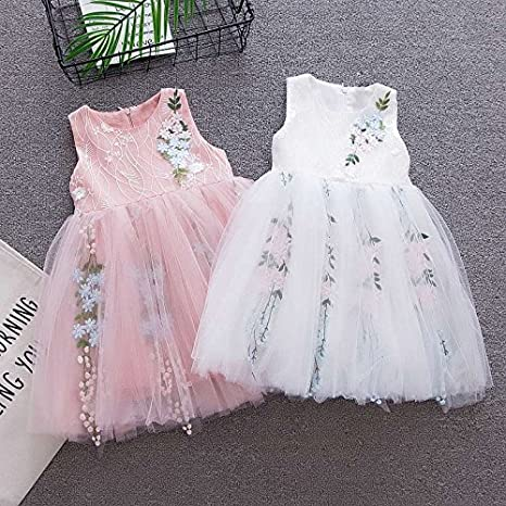 5f8bdcc8fb8af ... BOBORA Baby Girls Rose Lace Mesh Princess Tutu Dress infant-and-toddler-robes  ...