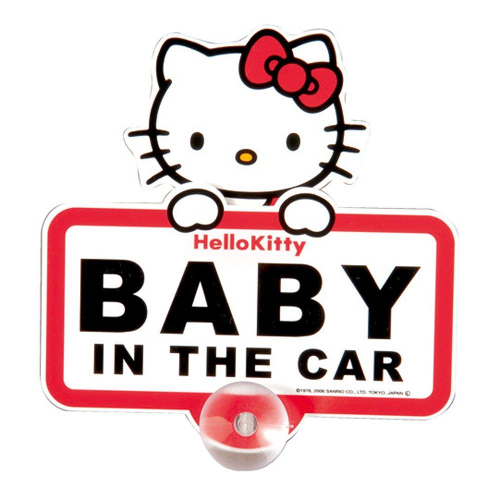 Hello Kitty bambino in auto cartello sanrio KT282