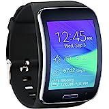 Fit-power – Bracelet de rechange avec boucle de sécurité pour Samsung Galaxy Gear S R750, Pack of 4D