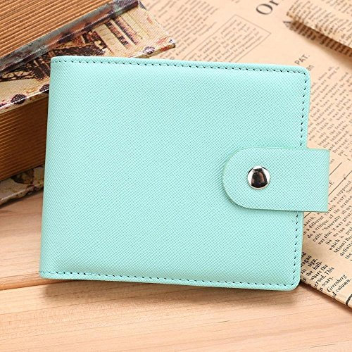 LHGS Women Soft Rectangle Synthetic Leather Solid Bifold Wallets