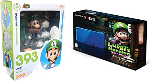 Luigis Mansion Dark Moon Edition Nintendo 3DS System and ...