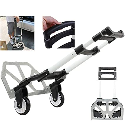 b4429da8c411 Amazon.com: WINMART 170 lbs Portable Heavy Duty Folding Hand Truck ...