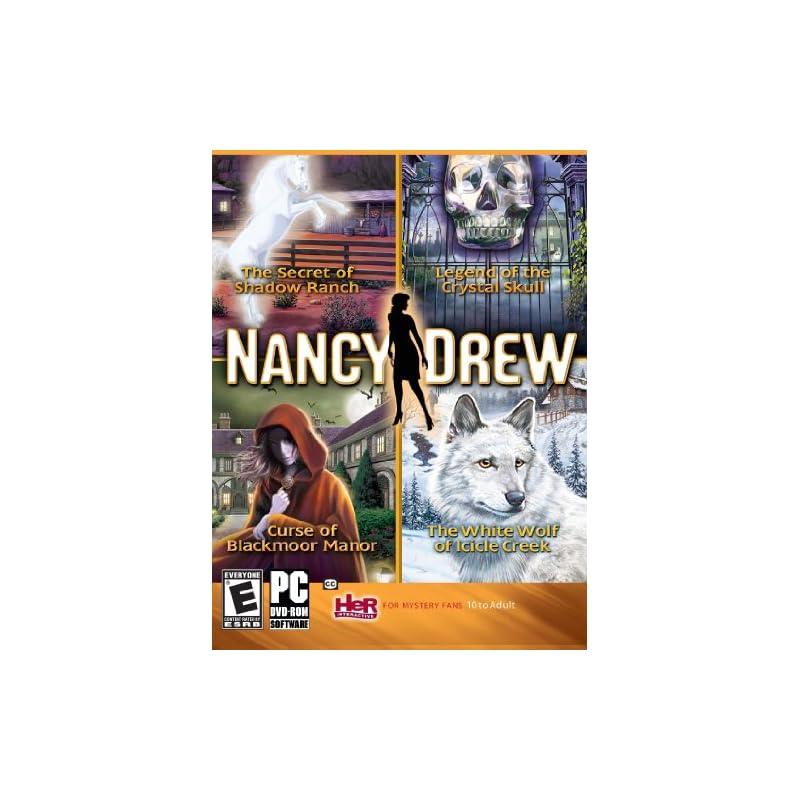 Nancy Drew 4 Pack-Secret of Shadow Ranch