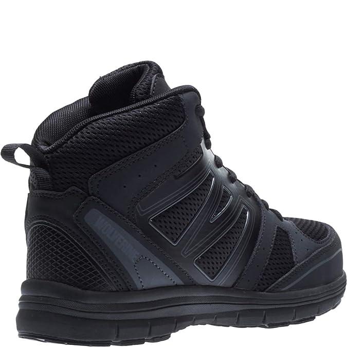 b4e4e16bd36 Wolverine Women's Nimble FX Waterproof Steel-Toe Athletic Construction Boot
