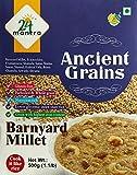 Organic Barnyard Millet, Pack of 2 X 500gm, USDA Certified Organic - 24 Mantra
