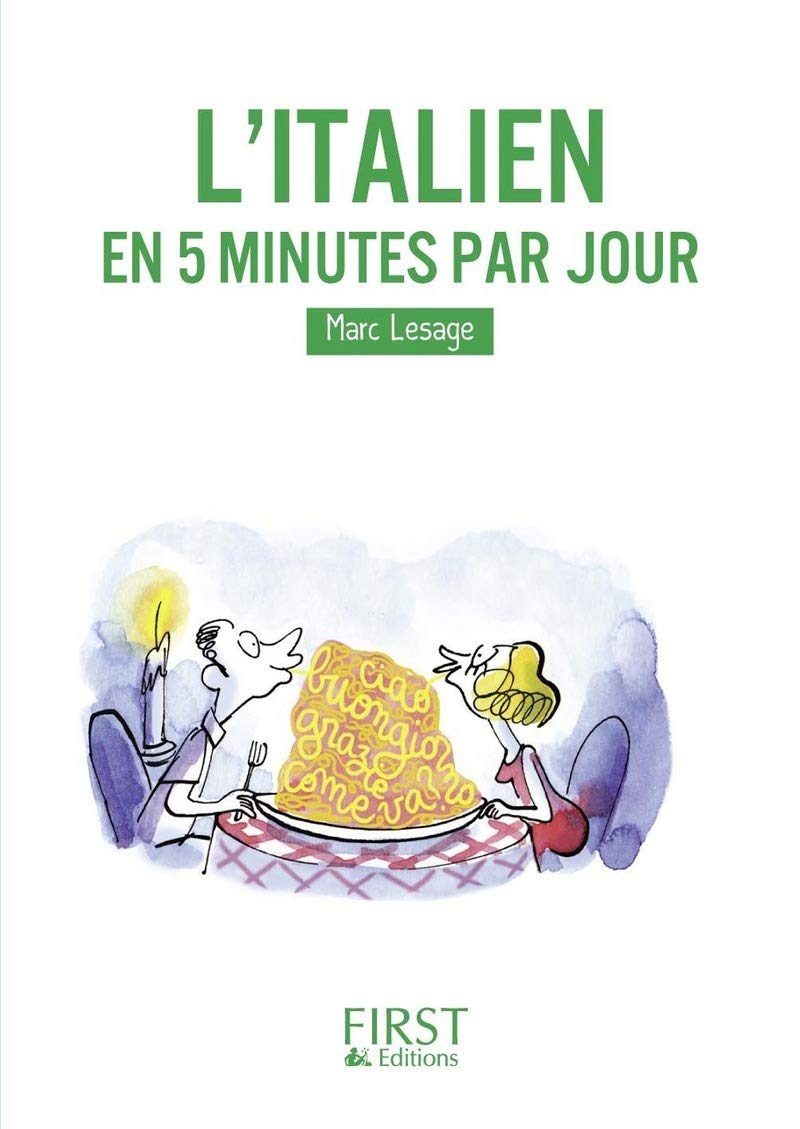 Les Petits Livres L Italien En 5 Minutes Par Jour