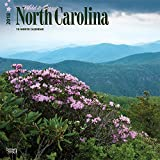 North Carolina, Wild & Scenic 2018 12 x 12 Inch Monthly Square Wall Calendar, USA United States of America Southeast State Nature (Multilingual Edition)