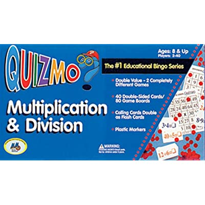 WorldClass Learning Mtrls Multiplication/Division Quizmo: Toys & Games