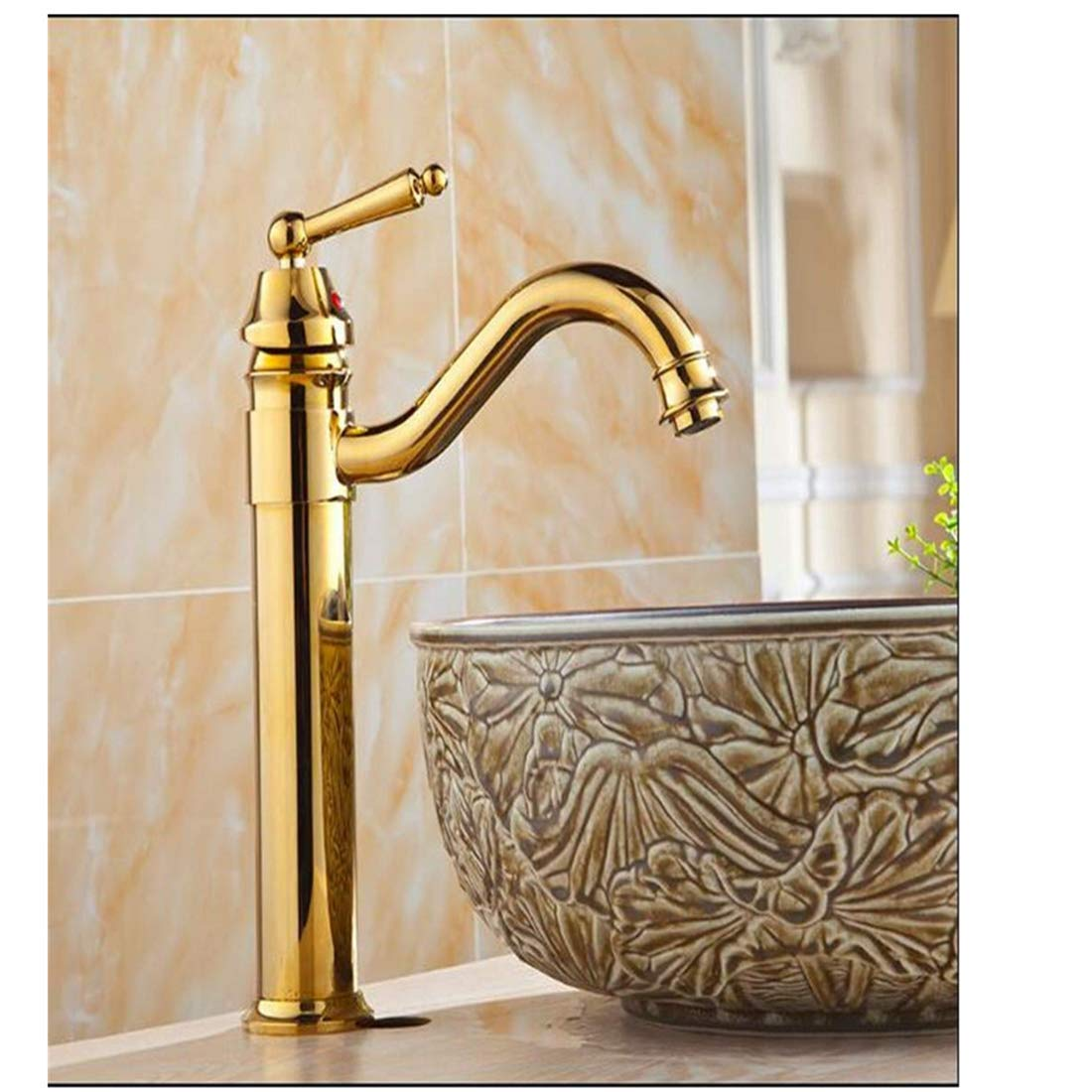 Chrome-Plated Adjustable Temperature-Sensitive Led Faucet Faucet Faucet Basin Faucet Basin Faucet Bathroom Washbasin Mixing Faucet