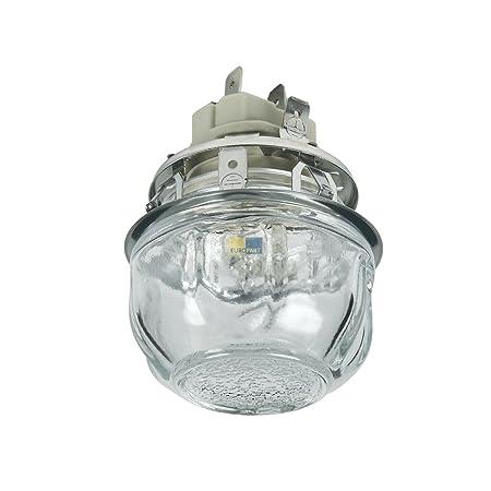 Electrolux AEG 387937693 3879376931 ORIGINAL Lampe Leuchte Glühbirne G9 25W mit Fassung Kalotte Backofen Herd auch Arthur Mar