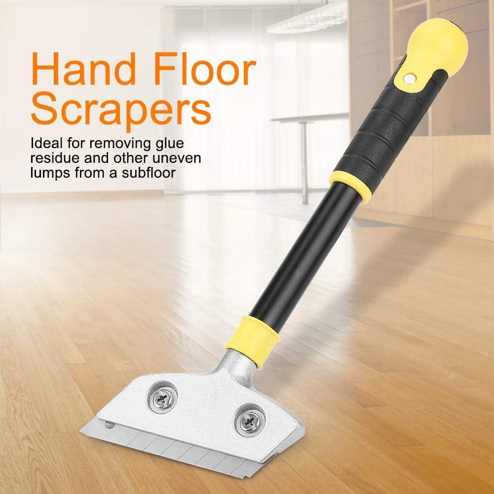 con 20 cuchillas de rascador de 4 pulgadas 12 pulgadas de largo Rascador para placa 2 herramientas manuales para raspador de pared para piso rascador de suelo
