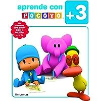 Aprende con Pocoyó y sus amigos: Para pintar, jugar y aprender (Pocoyo)