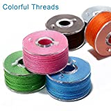 BetyBedy 36Pcs Bobbins and Sewing Threads with